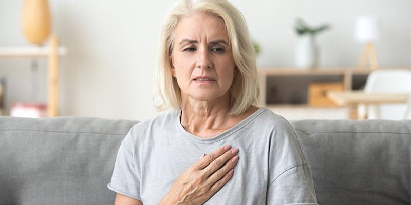 Dor no peito: o que pode ser?